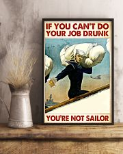 If You Can't Do Your Job Drunk 11x17 Poster lifestyle-poster-3
