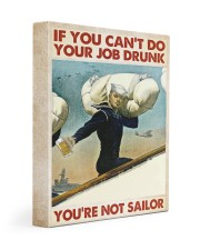If You Can't Do Your Job Drunk Gallery Wrapped Canvas Prints tile