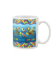 Autism Awareness Turtles It's Ok To Be Different Mug tile