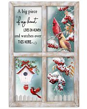 A Big Piece Of My Heart Lives In Heaven Vertical Poster tile