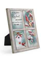 A Big Piece Of My Heart Lives In Heaven 8x10 Easel-Back Gallery Wrapped Canvas thumbnail