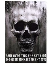 Into The Forest I Go To Lose My Mind And Find Soul 11x17 Poster front