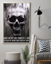 Into The Forest I Go To Lose My Mind And Find Soul 11x17 Poster lifestyle-poster-1
