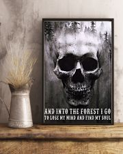 Into The Forest I Go To Lose My Mind And Find Soul 11x17 Poster lifestyle-poster-3