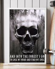 Into The Forest I Go To Lose My Mind And Find Soul 11x17 Poster lifestyle-poster-4
