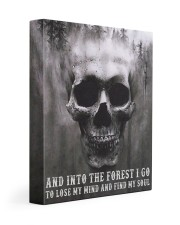 Into The Forest I Go To Lose My Mind And Find Soul Gallery Wrapped Canvas Prints tile