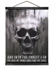 Into The Forest I Go To Lose My Mind And Find Soul Hanging Canvas tile