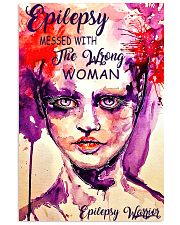 Epilepsy Awareness Messed With The Wrong Woman 11x17 Poster front
