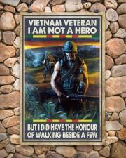 Vietnam Veteran I Am Not A Hero 11x17 Poster aos-poster-portrait-11x17-lifestyle-15