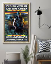 Vietnam Veteran I Am Not A Hero 11x17 Poster lifestyle-poster-1