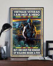 Vietnam Veteran I Am Not A Hero 11x17 Poster lifestyle-poster-2