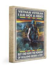 Vietnam Veteran I Am Not A Hero 11x14 Gallery Wrapped Canvas Prints thumbnail