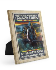 Vietnam Veteran I Am Not A Hero 8x10 Easel-Back Gallery Wrapped Canvas thumbnail