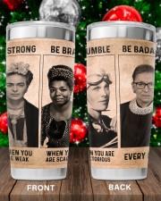 RBG Feminism Gift Be Strong Be Brave Be Humble Be Badass 20oz Tumbler aos-20oz-tumbler-lifestyle-front-100