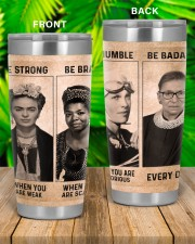 RBG Feminism Gift Be Strong Be Brave Be Humble Be Badass 20oz Tumbler aos-20oz-tumbler-lifestyle-front-53
