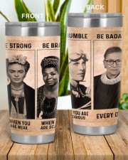 RBG Feminism Gift Be Strong Be Brave Be Humble Be Badass 20oz Tumbler aos-20oz-tumbler-lifestyle-front-57