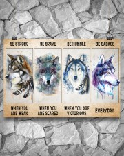 Be Strong When Weak Be Brave When Scared Be Humble 36x24 Poster aos-poster-landscape-36x24-lifestyle-12