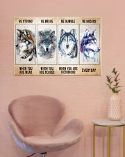 Be Strong When Weak Be Brave When Scared Be Humble 36x24 Poster poster-landscape-36x24-lifestyle-19