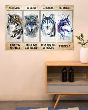 Be Strong When Weak Be Brave When Scared Be Humble 36x24 Poster poster-landscape-36x24-lifestyle-22