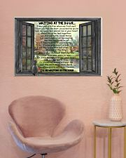 Gift For Cat lover Waiting At The Door 36x24 Poster poster-landscape-36x24-lifestyle-19