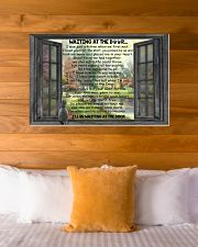 Gift For Cat lover Waiting At The Door 36x24 Poster poster-landscape-36x24-lifestyle-23