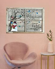 A Big Piece Of My Heart Lives In Heaven 36x24 Poster poster-landscape-36x24-lifestyle-19