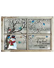 A Big Piece Of My Heart Lives In Heaven Horizontal Poster tile