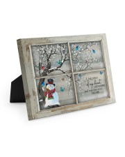 A Big Piece Of My Heart Lives In Heaven 10x8 Easel-Back Gallery Wrapped Canvas thumbnail