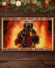 Sometimes I Look Back On My Life 17x11 Poster aos-poster-landscape-17x11-lifestyle-27