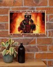 Sometimes I Look Back On My Life 17x11 Poster poster-landscape-17x11-lifestyle-23