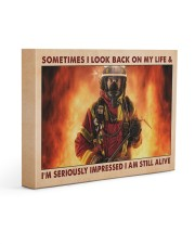 Sometimes I Look Back On My Life 14x11 Gallery Wrapped Canvas Prints thumbnail