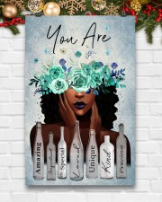 Black Gift Black Girl With Wreath You Are Amazing Special Loved 11x17 Poster aos-poster-portrait-11x17-lifestyle-23