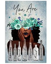 Black Gift Black Girl With Wreath You Are Amazing Special Loved 11x17 Poster front