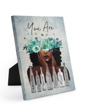 You Are Amazing Easel-Back Gallery Wrapped Canvas tile