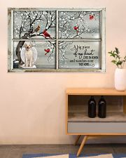 A Big Piece Of My Heart Lives In Heaven 36x24 Poster poster-landscape-36x24-lifestyle-22