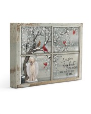 A Big Piece Of My Heart Lives In Heaven Gallery Wrapped Canvas Prints tile