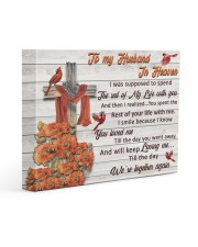 To My Husband In Heaven Gallery Wrapped Canvas Prints tile