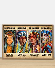 Be Strong When Weak Be Brave When Scared Be Humble 36x24 Poster poster-landscape-36x24-lifestyle-03