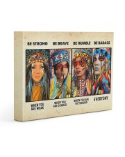 Be Strong When Weak Be Brave When Scared Be Humble 14x11 Gallery Wrapped Canvas Prints thumbnail