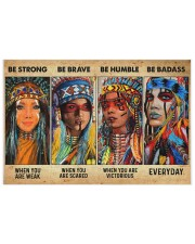 Be Strong When Weak Be Brave When Scared Be Humble 250 Piece Puzzle (horizontal) thumbnail