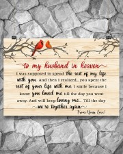 To My Husband In Heaven 36x24 Poster aos-poster-landscape-36x24-lifestyle-12
