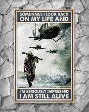 Sometimes I Look Back On My Life I Am Still Alive 11x17 Poster aos-poster-portrait-11x17-lifestyle-13