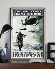 Sometimes I Look Back On My Life I Am Still Alive 11x17 Poster lifestyle-poster-2