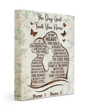 The Day God Took You Home  11x14 Gallery Wrapped Canvas Prints thumbnail