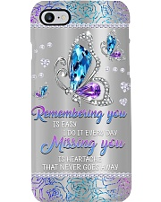 Remembering You Is Easy I Do It Every Day Missing  Phone Case i-phone-8-case