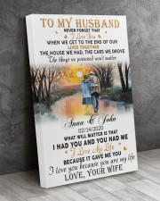 Family Gift To My Husband Never Forget That I Love You 20x30 Gallery Wrapped Canvas Prints aos-canvas-pgw-20x30-lifestyle-front-08