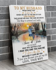 Family Gift To My Husband Never Forget That I Love You 20x30 Gallery Wrapped Canvas Prints aos-canvas-pgw-20x30-lifestyle-front-12