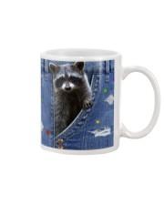 Raccoon In The Bag Mug thumbnail