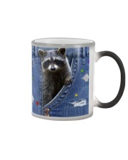 Raccoon In The Bag Color Changing Mug thumbnail