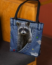 Raccoon In The Bag All-over Tote aos-all-over-tote-lifestyle-front-02